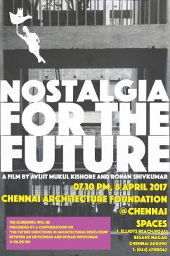 Nostalgia Chennai screening web invite